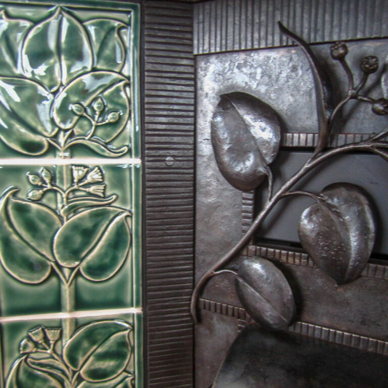 Custom tile and metal-work