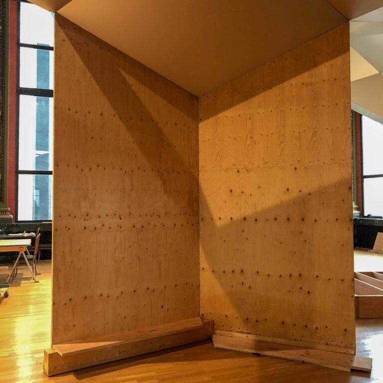 Interior Zome walls