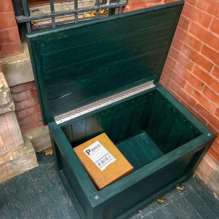 Custom package box
