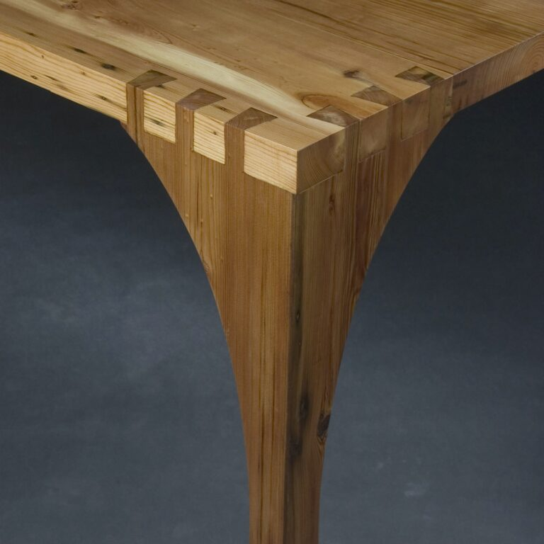 Dovetail joinery detail